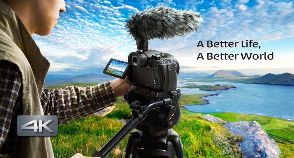 4k Panasonic Camera